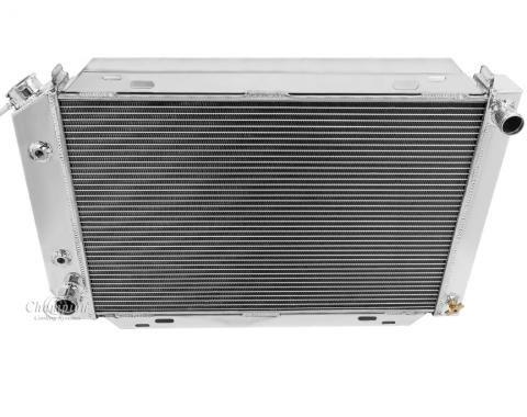 Champion Cooling 2 Row All Aluminum Radiator Made With Aircraft Grade Aluminum EC138
