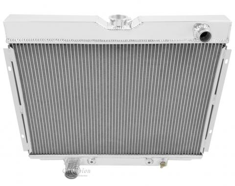 Champion Cooling 3 Row All Aluminum Radiator Made With Aircraft Grade Aluminum CC379