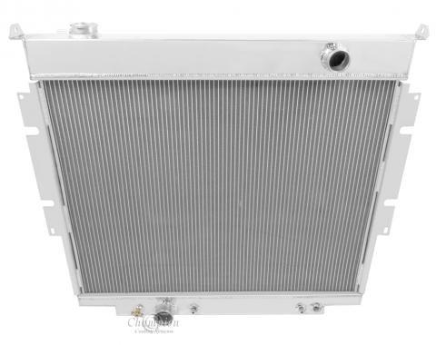 Champion Cooling 4 Row All Aluminum Radiator Made With Aircraft Grade Aluminum MC1165