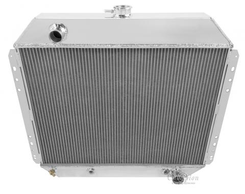 Champion Cooling 3 Row All Aluminum Radiator Made With Aircraft Grade Aluminum CC833B