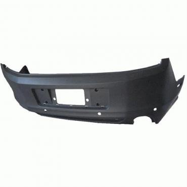Mustang Rear Bumper Cover, with Rear Object Sensors, 2013-2014