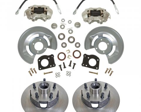 Ford Front Wheel Drum-to-Disc Brake Conversion Kit, 1964-1969