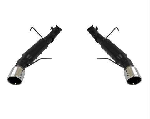 Flowmaster 2013-2014 Mustang Outlaw Series Exhaust System, Axle-Back, Stainless Steel, Stainless Tips