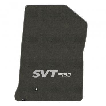 Lloyd Mats Ford F150/250 1999-2000 2 Piece Mats Smoke Velourtex SVT Logo 620206