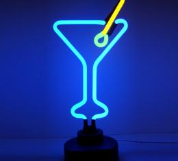 Neonetics Neon Sculptures, Martini Glass Neon Sculpture