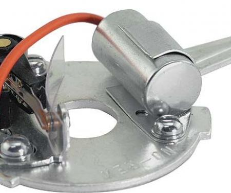 Model A Ford Distributor Upper Plate - Modern Style