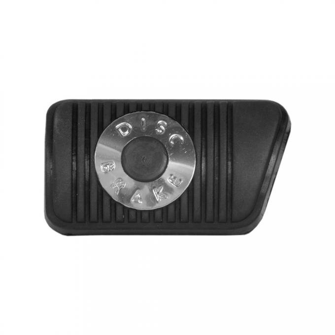 Brake Pedal Pad - Disc Brakes - For Cars With Manual Transmission