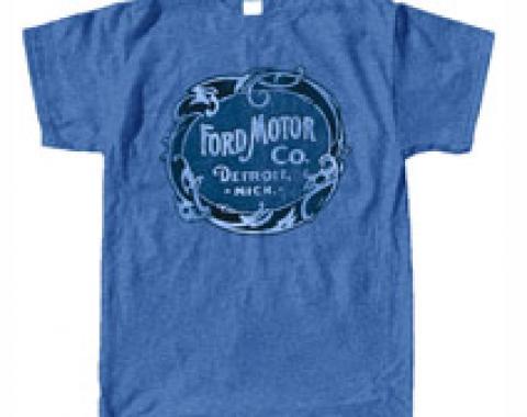 Classic Detroit Ford Logo T-Shirt