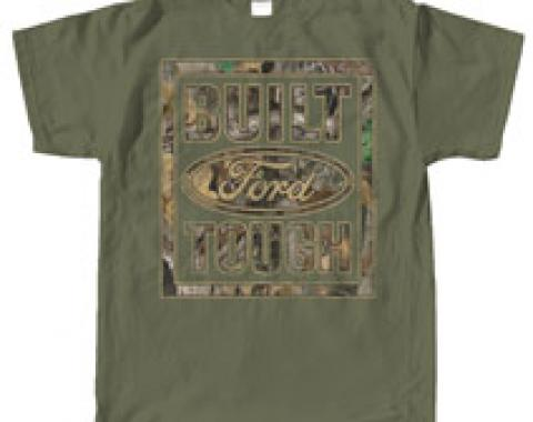 Built Ford Tough, Green & Camo Shirt