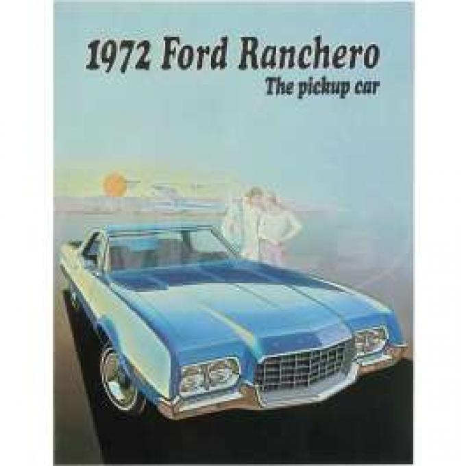 Sales Brochure, Ranchero, 1972