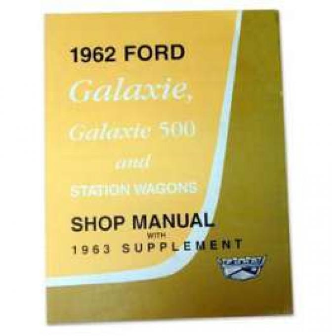 Ford Galaxie and Mercury Monterey Shop Manual - 600+ Pages