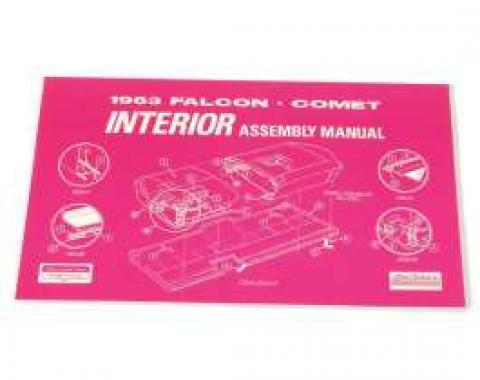 1963 Falcon and Comet Interior Assembly Manual - 131 Pages