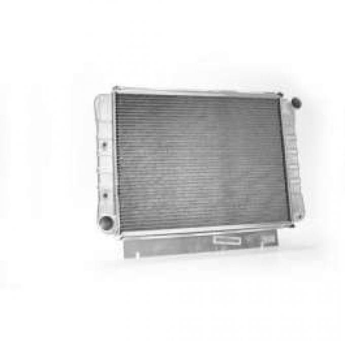 60/63 Aluminum Griffin Radiator, Full-Size Ford V8 With Automatic Transmission