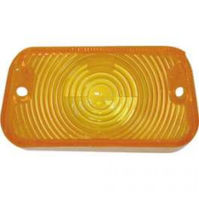 Parking Light Lens - Amber Lens - Left