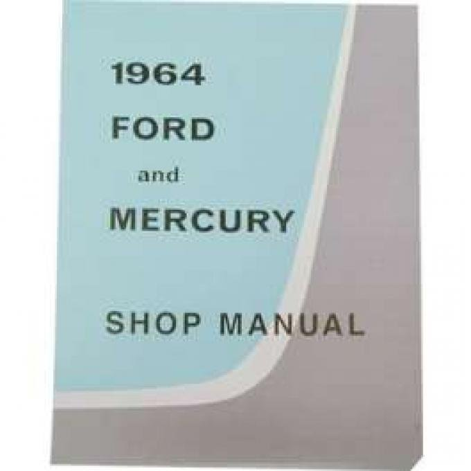 Ford Car Shop Manual - 540 Pages