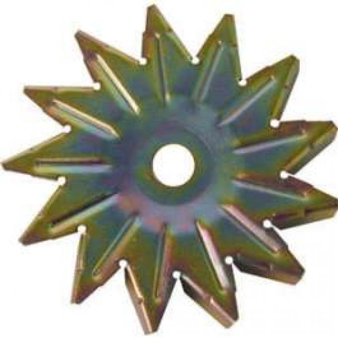 Alternator Fan - Gold Zinc Dichromate - 13 Blades