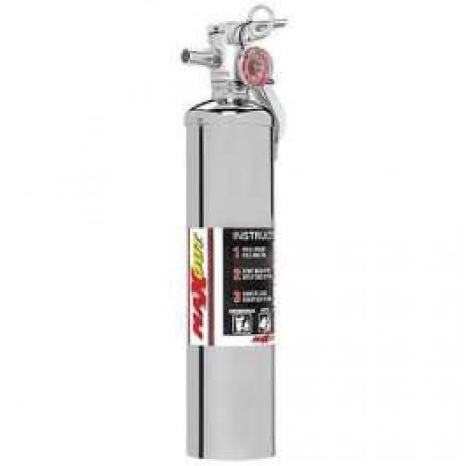 Fire Extinguisher, H3R MaxOut, Chrome, 2.5 Lb.