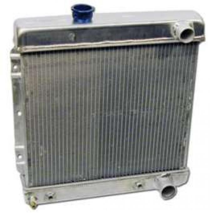 Radiator - 3 Row - Automatic Transmission - 352, 390, and 427