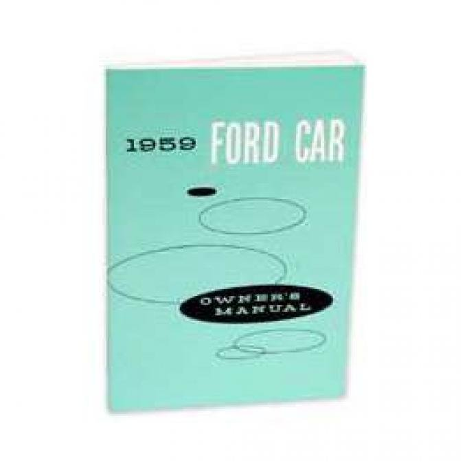 Ford Owner's Manual - 40 Pages With Illustrations