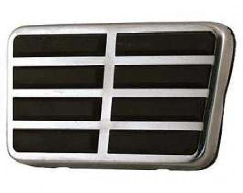 Power Brake Pedal - Stainless Steel Trim - Used With Power Drum Brakes, Auto Transmission and Fixed Steering Column