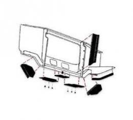 Radiator Support To Bottom Of Radiator Air Deflector Seal