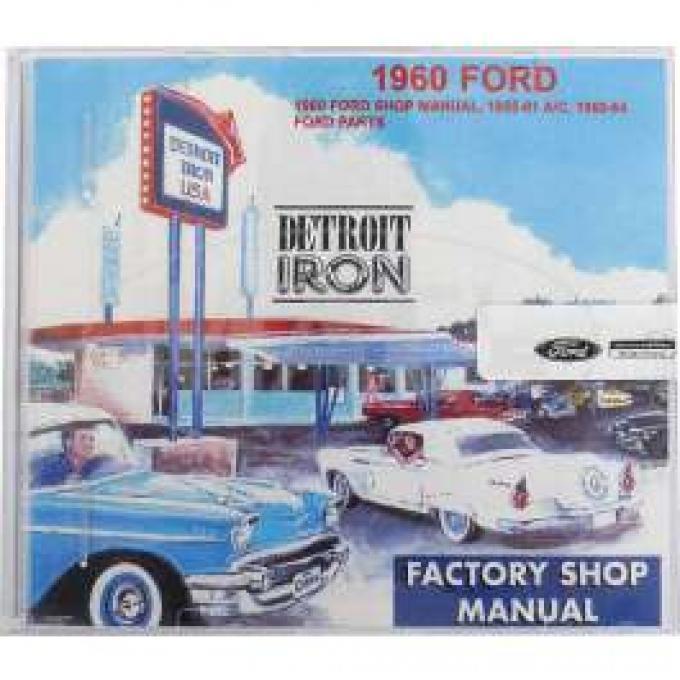 Shop Manual & Parts Manual On CD-Rom, Ford, 1960