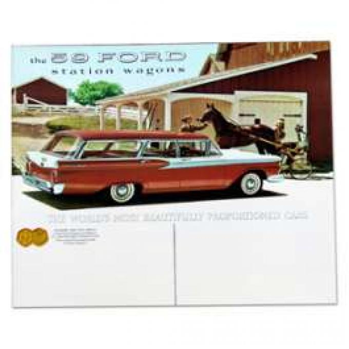 Ford Station Wagon Color Sales Brochure