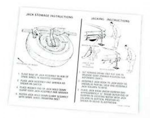 Decal - Jack Instructions