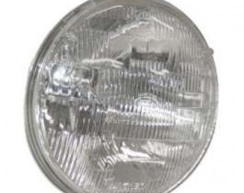 Sealed Beam Headlight 7 Inch - 6 Volt - Halogen