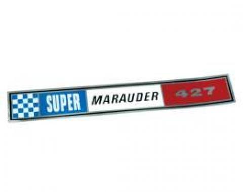 Valve Cover Decal - 427 Super Marauder