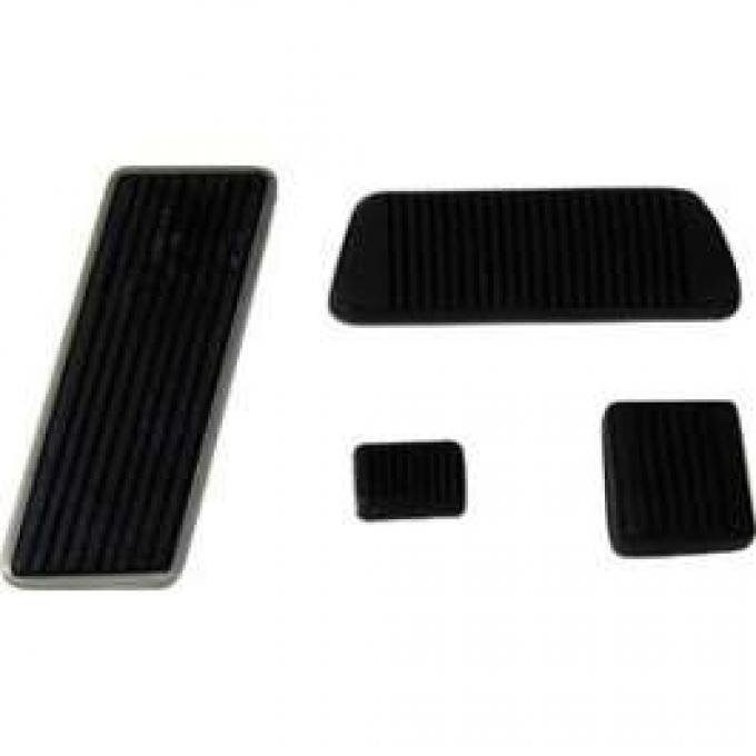 Pedal Pad Kit, Manual Transmission, Falcon, Ranchero, 1962-1965