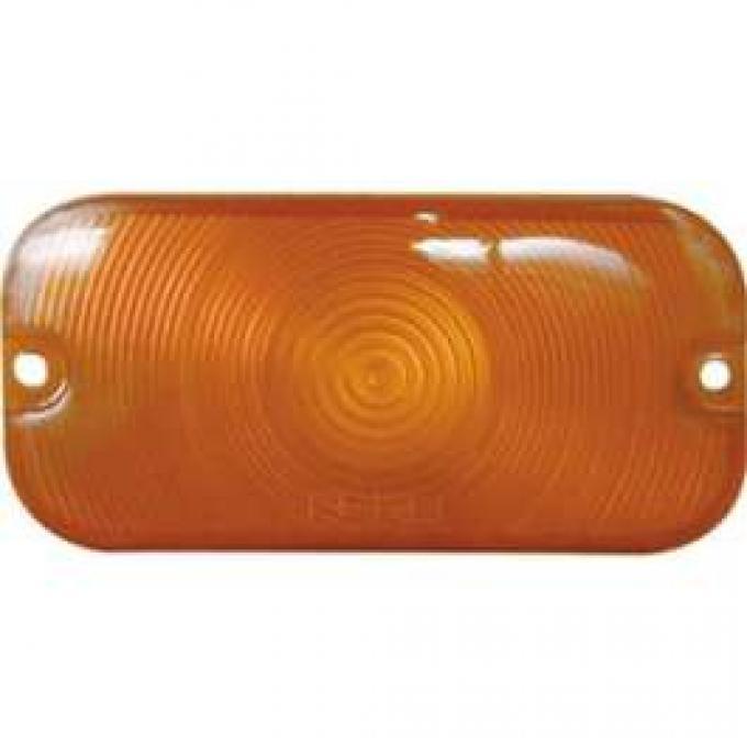 Parking Light Lens - Plastic - Amber