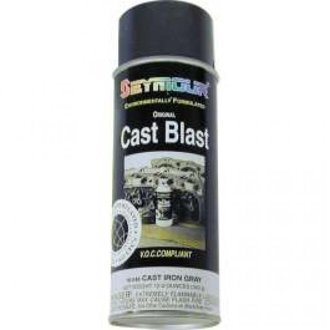 Cast Blast Hi-Temp - Withstands Up To 1200 Degrees - 12 Oz. Spray Can