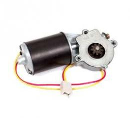 Power Window Motor - New - 9 Tooth Metal Gear - Right