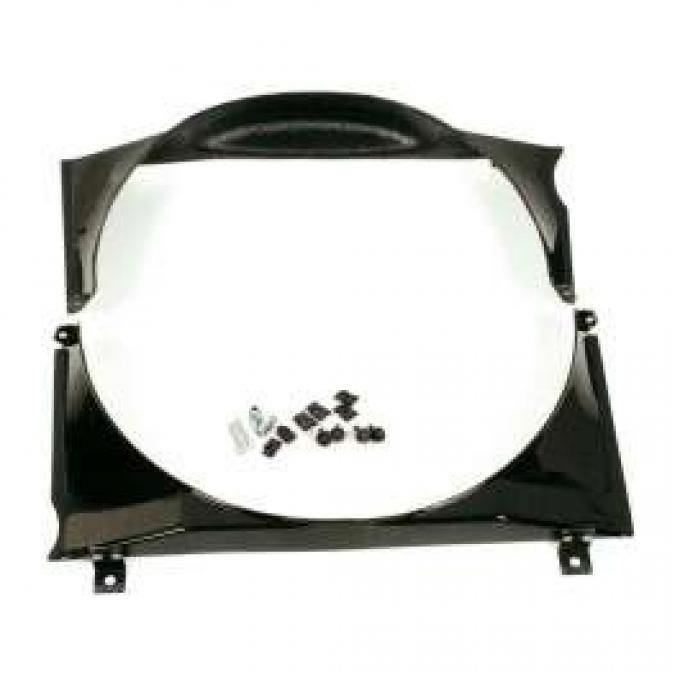 Fan Shroud - 2 Piece Fiberglass - 352 and 390 V8 - With Heavy Duty Cooling Or Air Conditioning