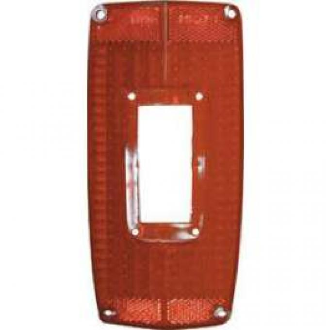 Tail Light Lens - With Hole For Backup Light