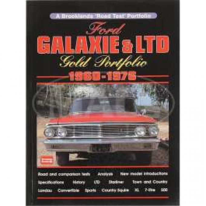 Gold Portfolio, Galaxie & LTD Road Tests, 1959-1976