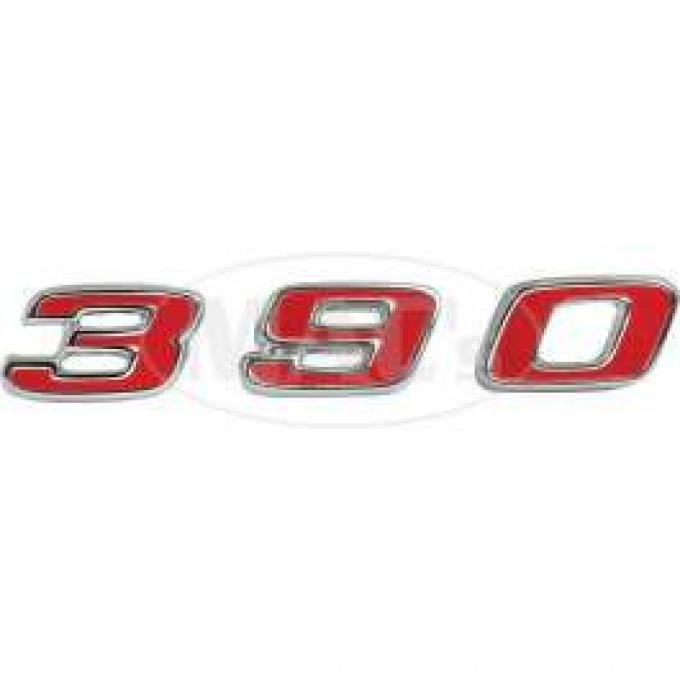 67 Fairlane 3-9-0 Power Dome Letters