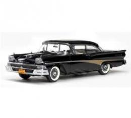 Fairlane Model, Black, Convertible, 1:18 Scale, 1958