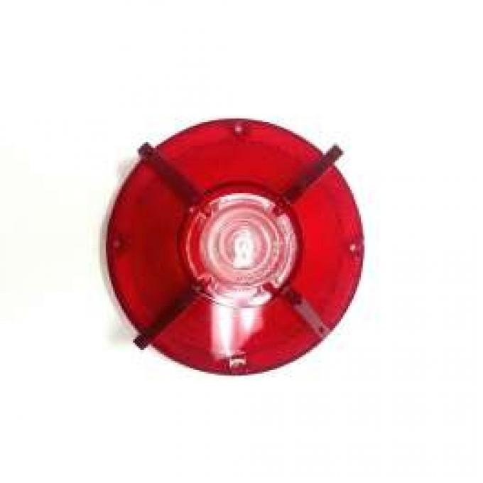 Tail Light Lens - With Backup Lights