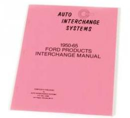 1950-65 Ford Products Interchange Manual