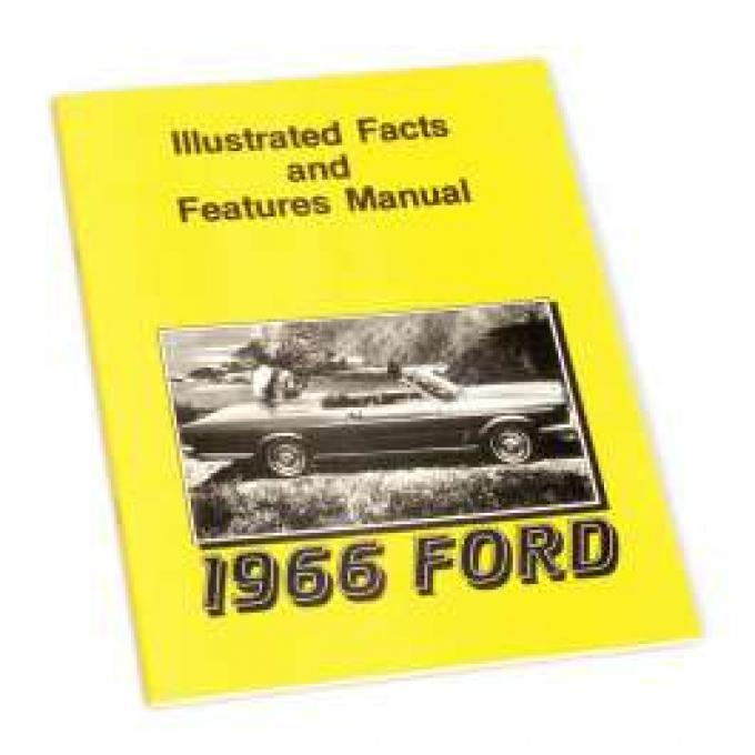 Illustrated Facts and Features Manual - 43 Pages