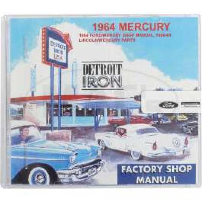 Shop Manual & Parts Manual On CD-Rom, Mercury, 1964