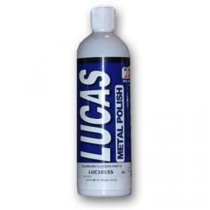 LUCAS METAL POLISH (16 OZ)
