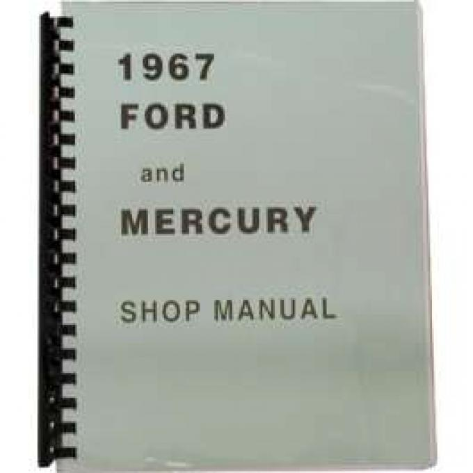 Full-Size Ford and Mercury Shop Manual - 912 Pages