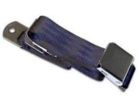 "Seatbelt Solutions Universal Lap Belt, 60"" with Chrome Lift Latch 1800601000 | Black"