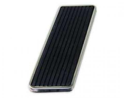 Accelerator Pedal - Molded Rubber With Stainless Steel Trim