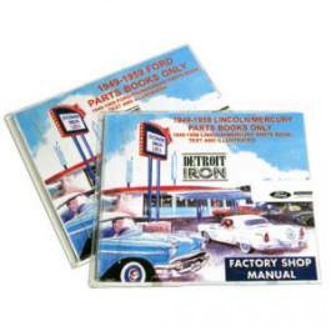 Parts Manual On CD-Rom, Mercury, 1949-1959