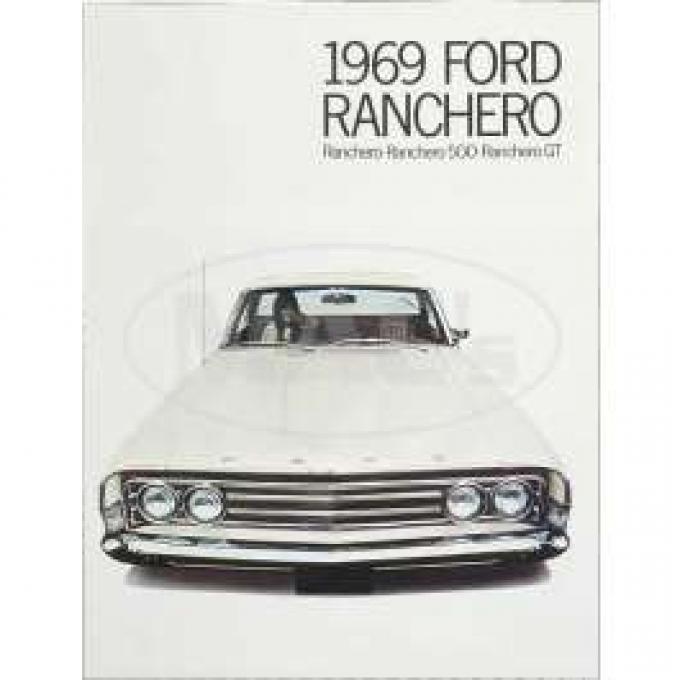 Sales Brochure, Panel, Ranchero, 1969