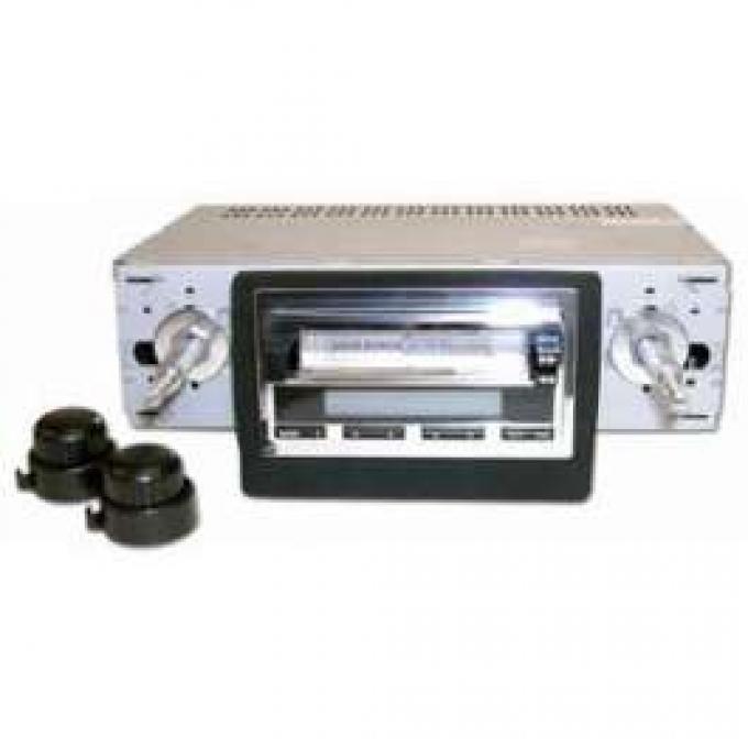 Radio, Classic Audio #2, Standard Dash, Falcon, Ranchero, 1964-1965, Ken Harrison